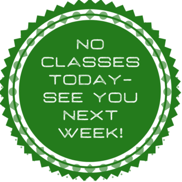 No Classes Today