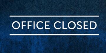 Office Closed - No Programming